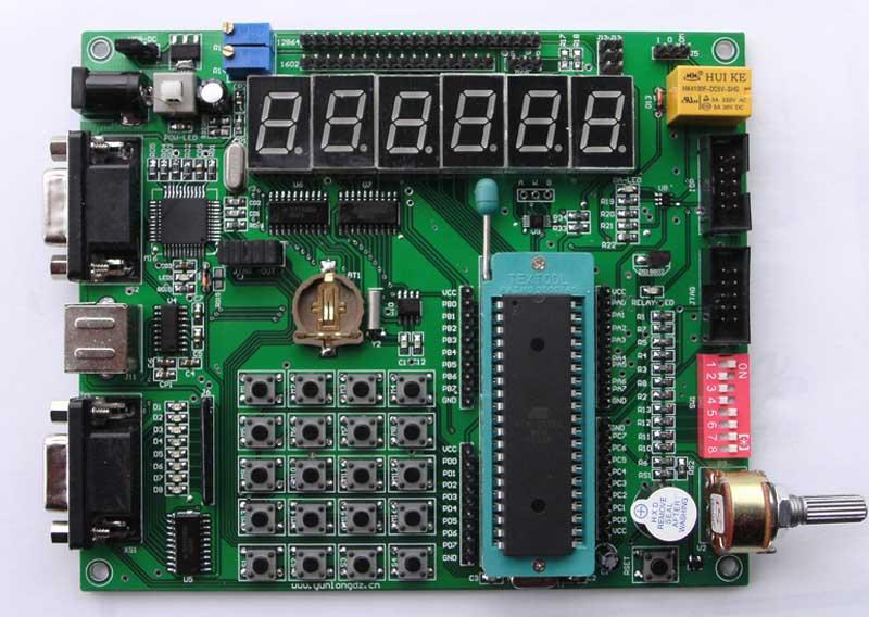 pq-min型avr单片机学习开发板导购