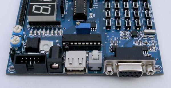 全功能tx-1c加强版 51单片机学习板 51单片机开发板; 值得推存的一