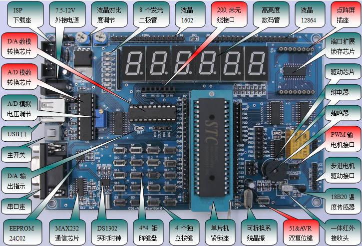低价收购tx-1c 51单片机学习板